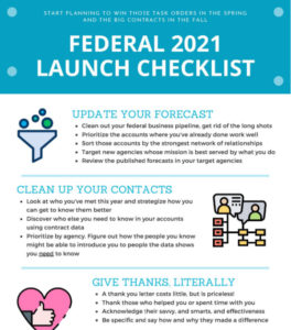 Q1 Federal Launch Checklist Start here